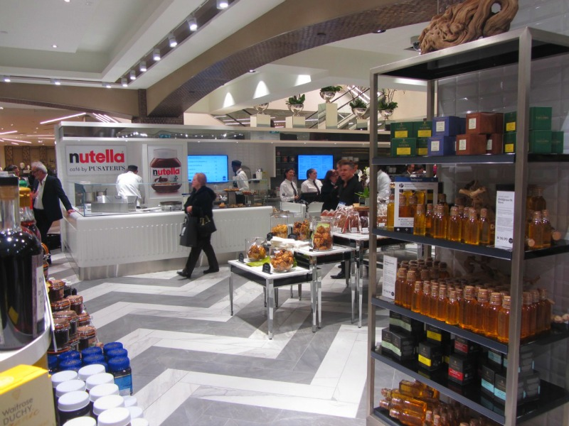 Nutella bar. Photo: Norman Katz
