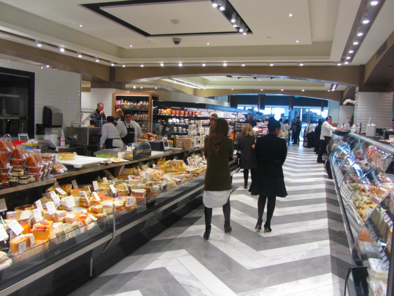 Aisles of cheese. Photo: Norman Katz