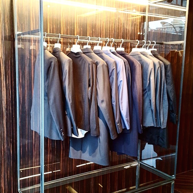 Men's suits. Photo: Helen Siwak of @Eco.Lux.Luv