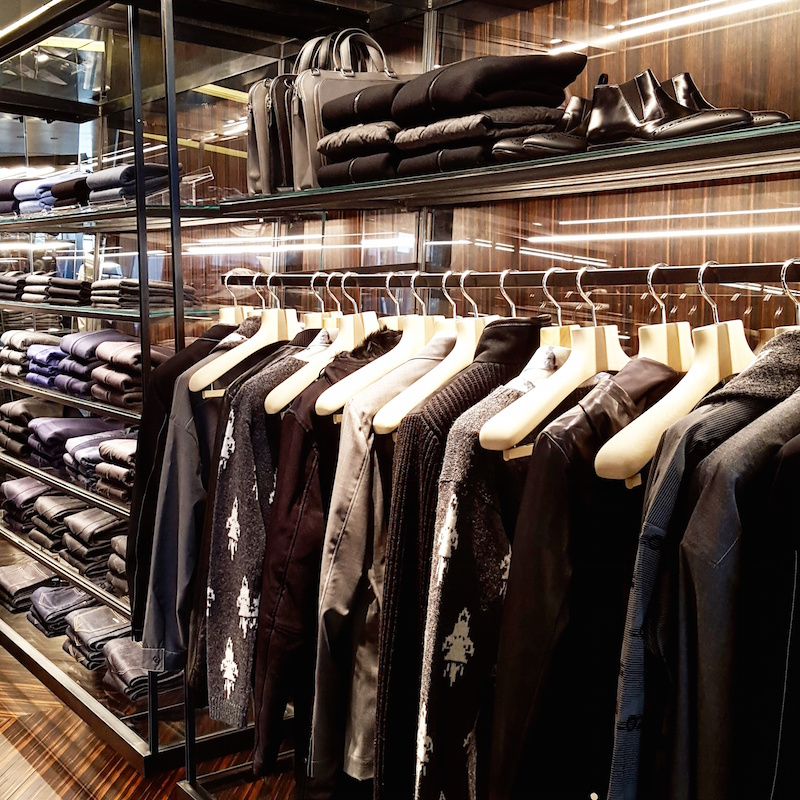 Men's department on 2. Photo: Helen Siwak of @Eco.Lux.Luv