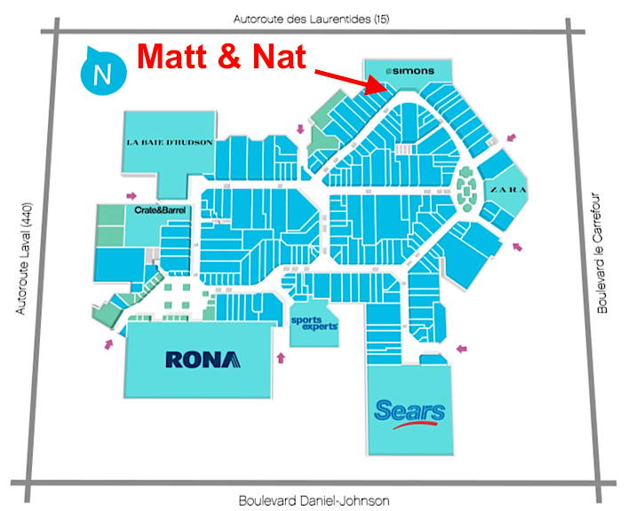 Click above for interactive mall map