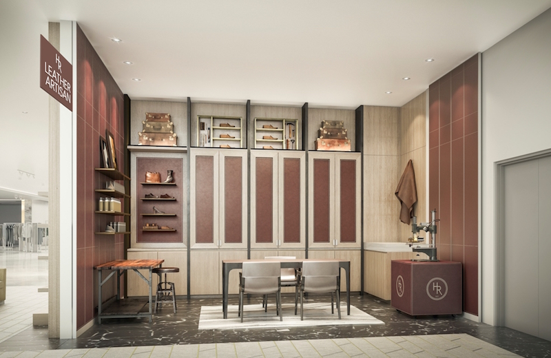Leather Artisan. Rendering: Holt Renfrew