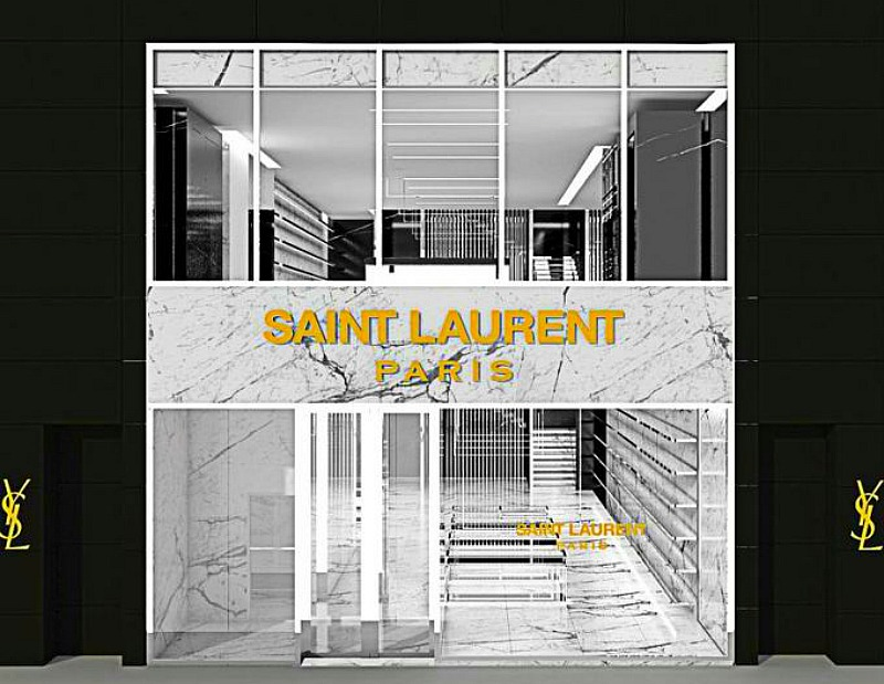 Rendering: Kering/Saint Laurent