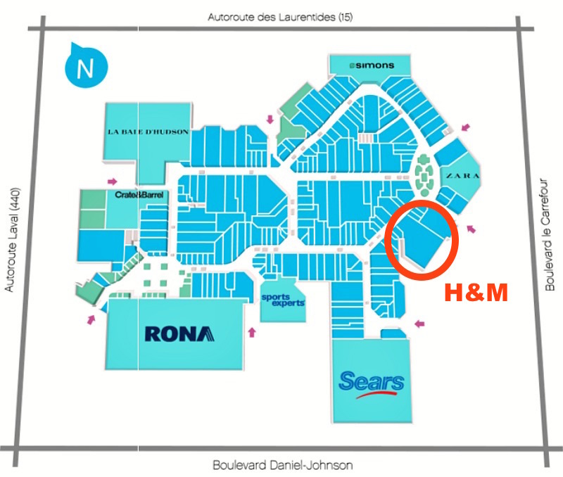Click above for interactive mall floor plan.