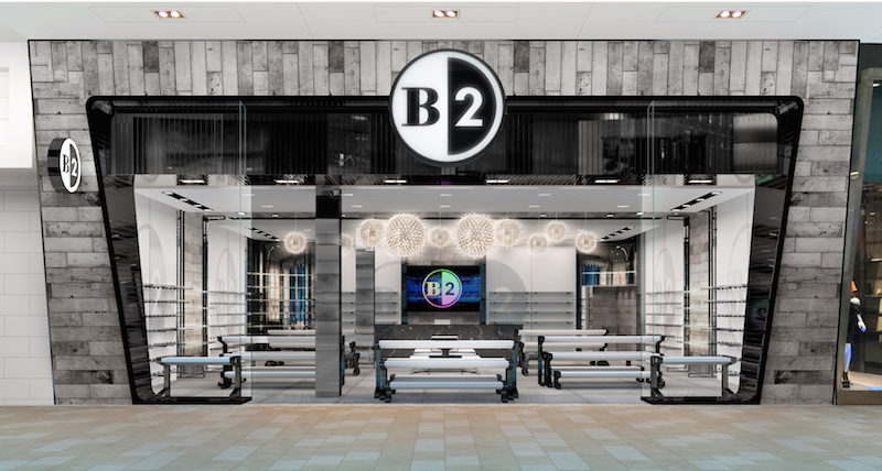 B2 at Square One. Photo: Browns Shoes