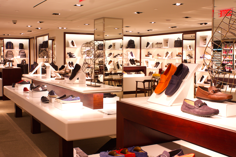 Montreal now boasts Harry Rosen's largest footwear salon. Photo: Harry Rosen