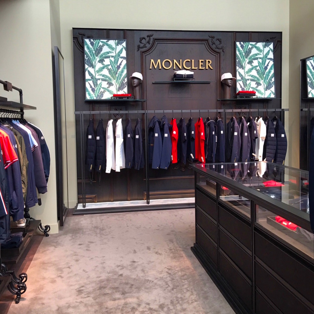 New Moncler boutique -- a first for Harry Rosen. Photo:  Maxime Frechette .