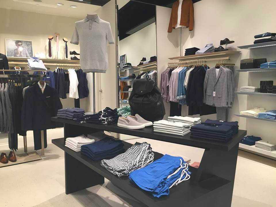 Men's fashions. Photo: CF Sherway Gardens