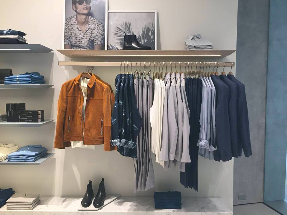 Men's apparel. Photo: CF Sherway Gardens