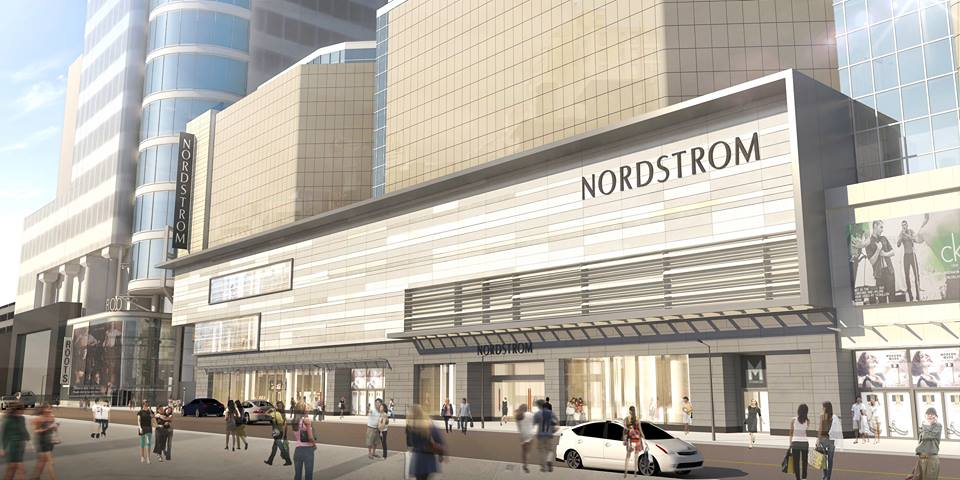 Another new rendering of CF Toronto Eaton Centre, via Nordstrom
