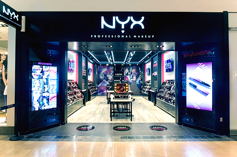 List of NYX locations (3 stores in database), hours, phone stores in shopping malls. Closest NYX store near me - locator. Address and directions.
