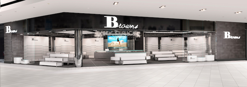 CF Rideau Centre store rendering.