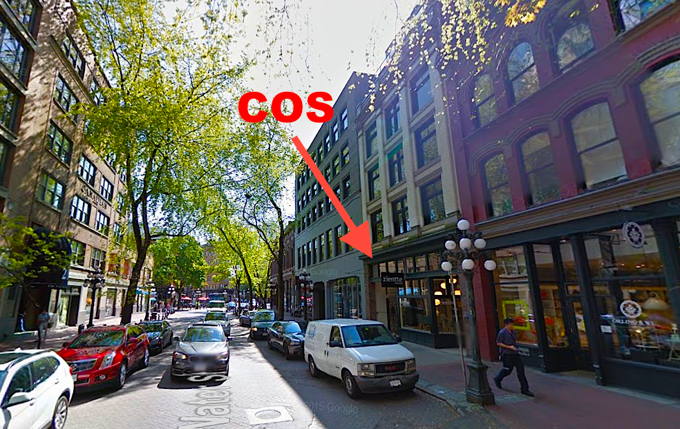 Vancouver's Water Street. Photo: Google Street View