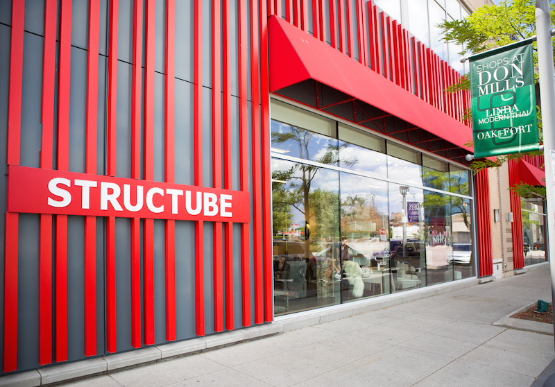 At CF Shops at Don Mills in Toronto. Photo supplied by Structube.