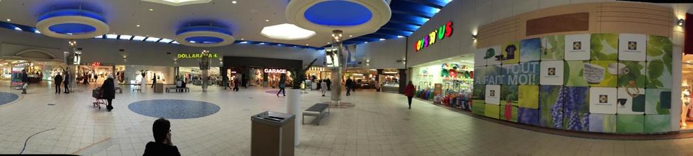 Mall 'centre court. Photo: Maxime Frechette