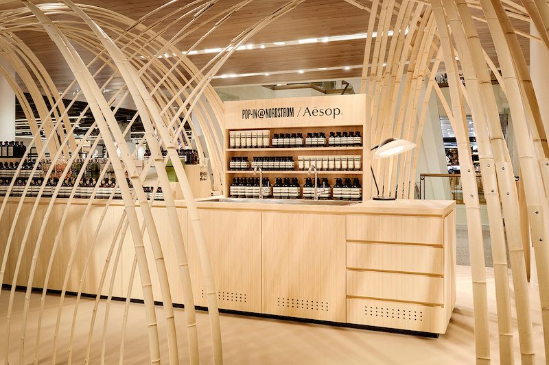 at Nordstrom in Vancouver. Photo: Aesop