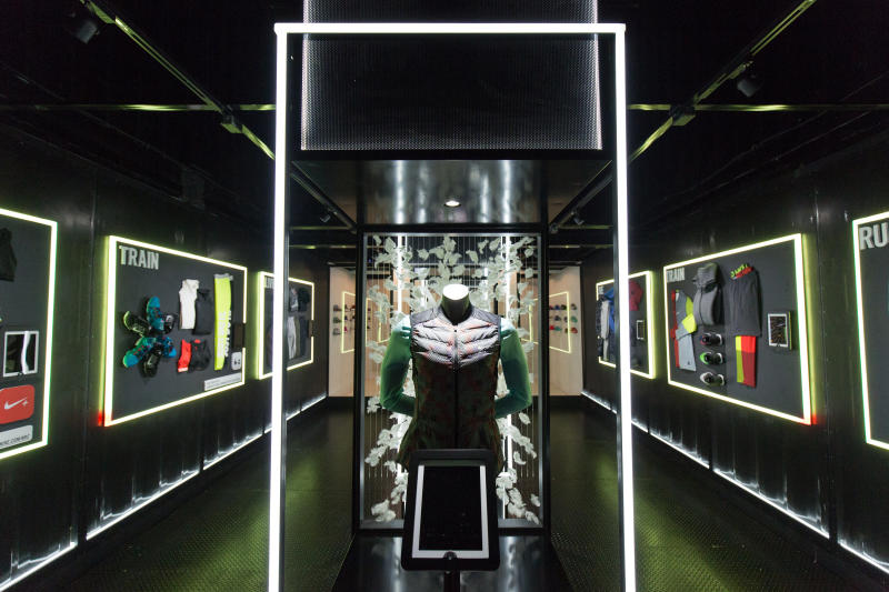 Nike pop-up in Vancouver. Photo: ca.complex.com