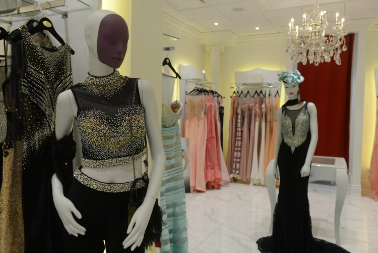 Women's Impero Couture display. Photo: Tom Sandler
