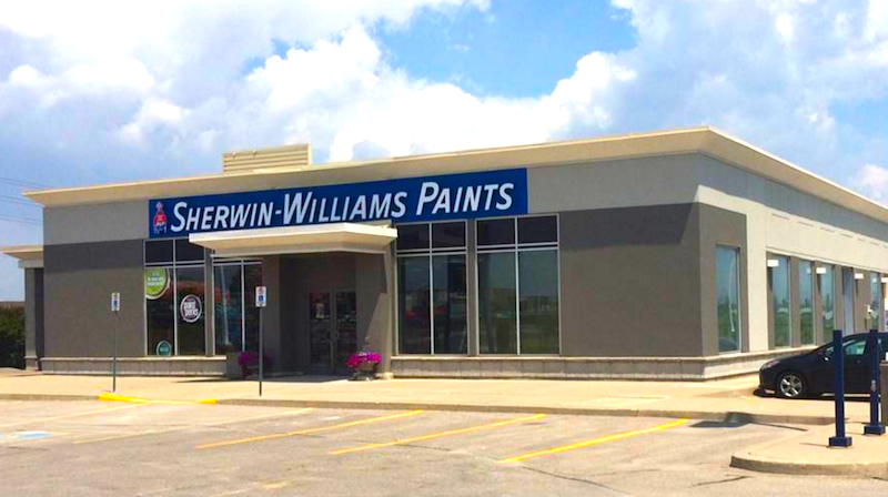 Whitby Store. Photo: Sherwin-Williams