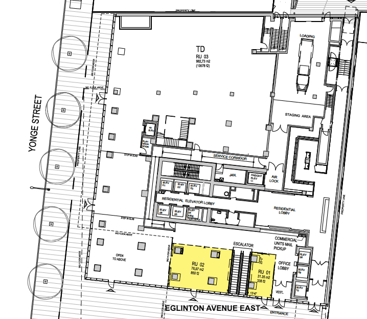 (Ground floor lease plan, via RioCan)