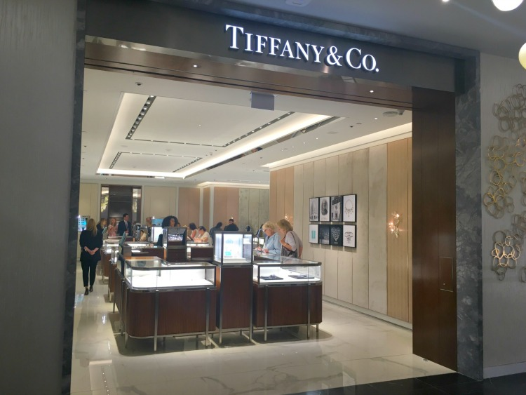 Tiffany & Co. operates a concession within Holt's Square One. Photo: Chantal Mizerski, Retail Council of Canada.