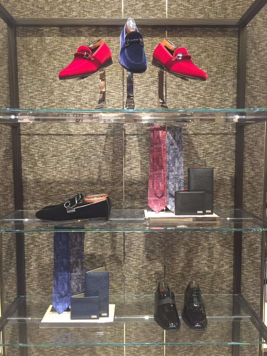 Men's footwear display. Photo: Square One