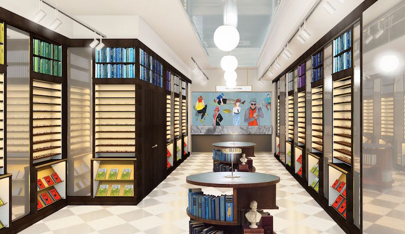 Rendering: Warby Parker