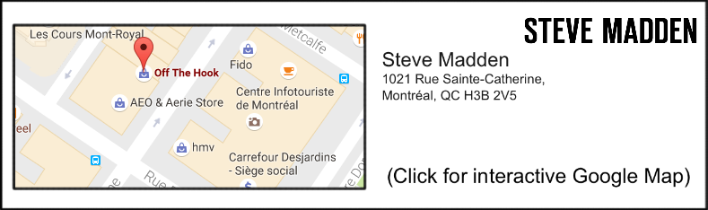 60d3f44ab36 Montreal Friday   Another Steve Madden to Open on Sainte Catherine ...
