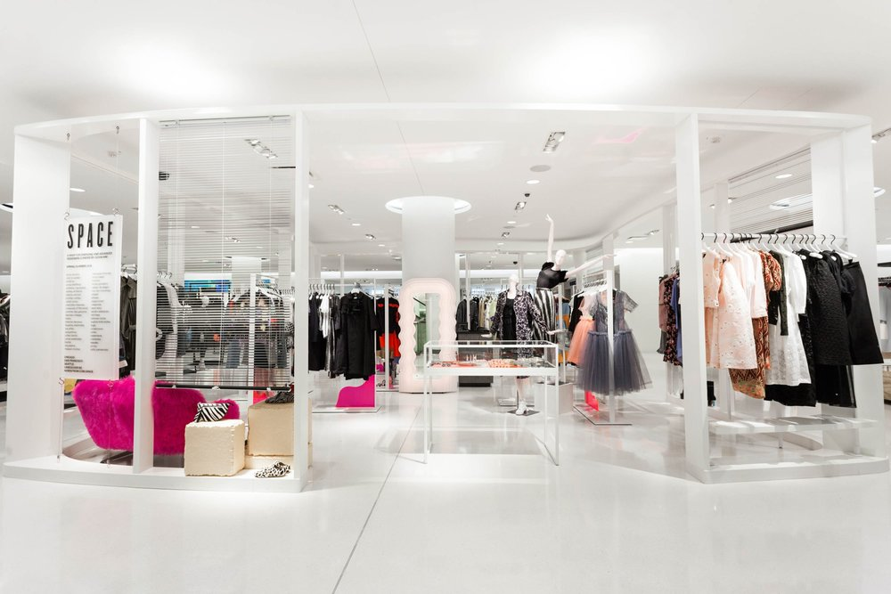 Chicago Michigan Avenue flagship 'SPACE' department. Photo: Nordstrom