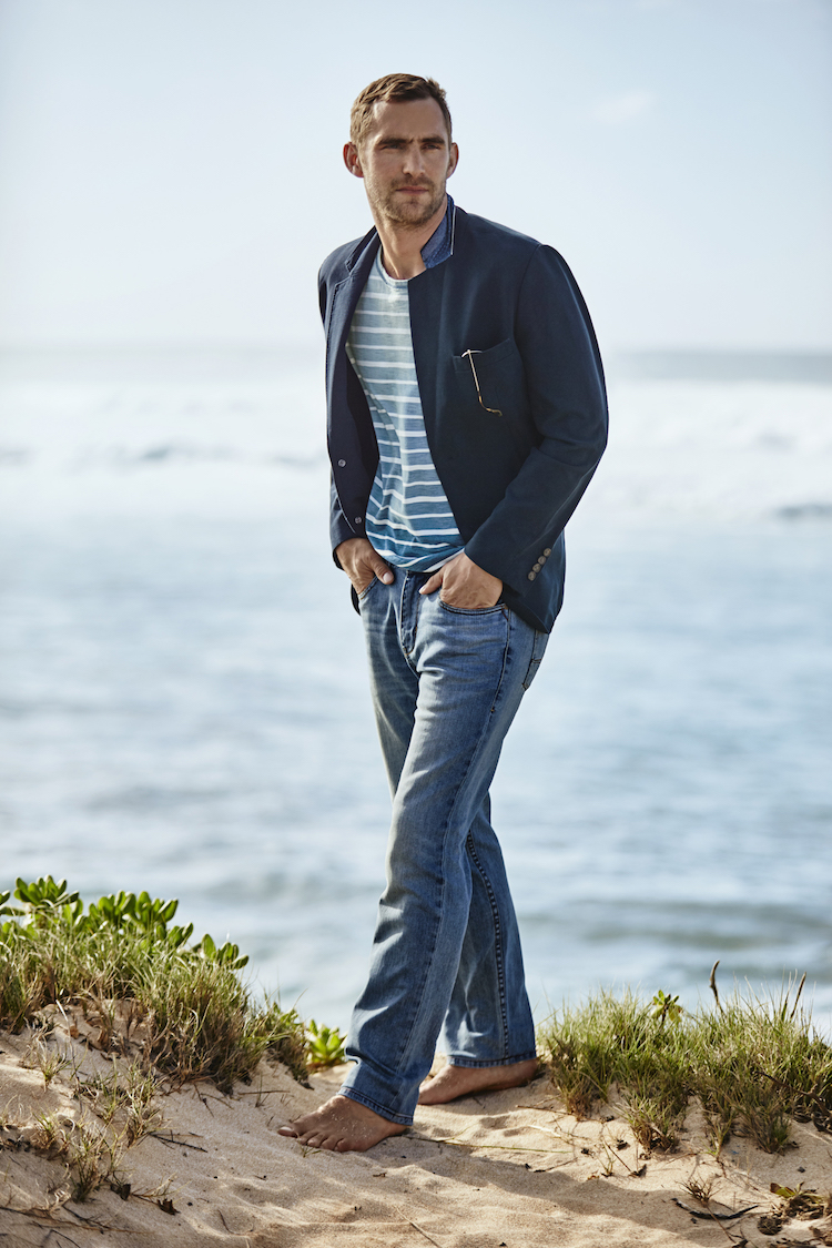 Image from the FW-2016 men's Tommy Bahama men's denim collection. Photo supplied.