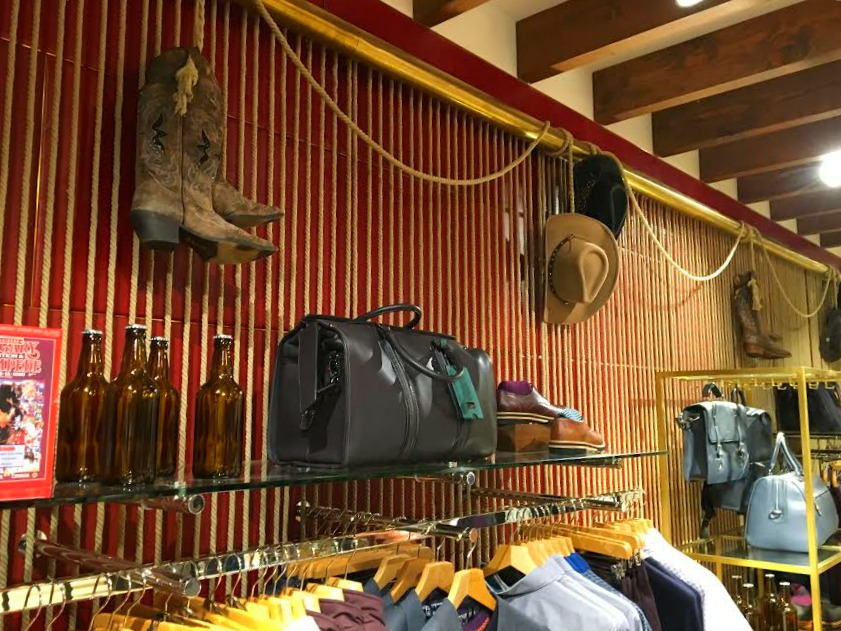 A 'Western' theme permeates throughout the store. Photo: Ryan Massel