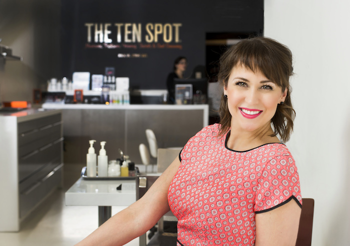 The Ten Spot fonder Kristen Wood.