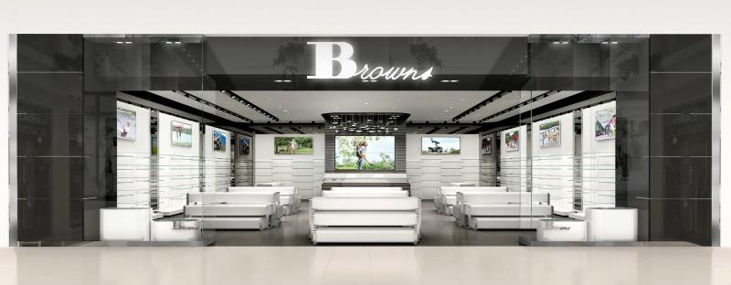 Kingsway Mall store rendering.