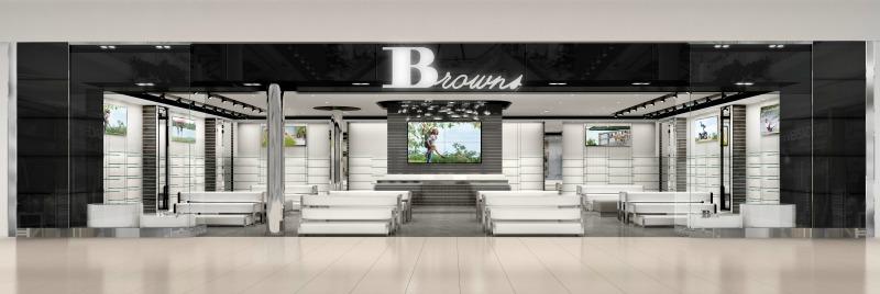 CF Masonville storefront rendering.