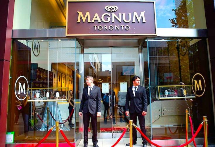 Magnum pop-up in Toronto, 2014. Photo: Magnum