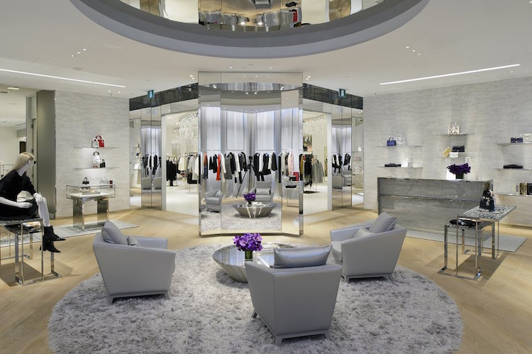 Inside Dior's new Saks Fifth Avenue boutique in Toronto. Photo: Saks