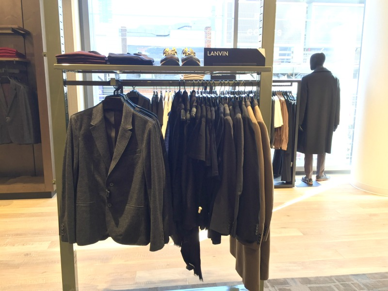 Nordstrom features a number of premium men's brands, such as Lanvin, Marni, and Yohji Yamamoto. Photo: Devon Johnson