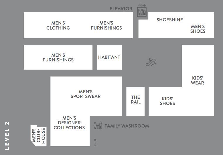Nordstrom Floor Plan   Nordstrom Opens Flagship To Huge Crowds Photos Video Floor Plans