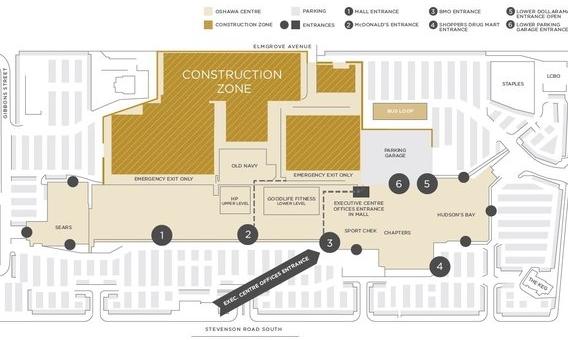 Construction Plan via Ivanhoé Cambridge