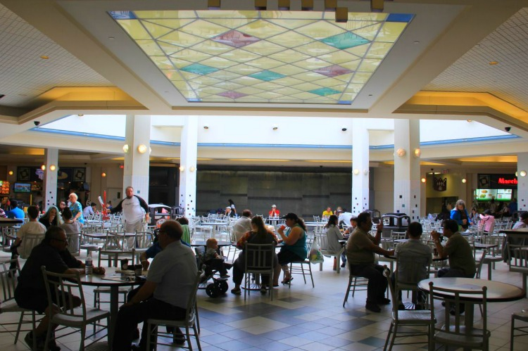 Before: Londonderry food court. Photo: 20 Vic Management Inc.