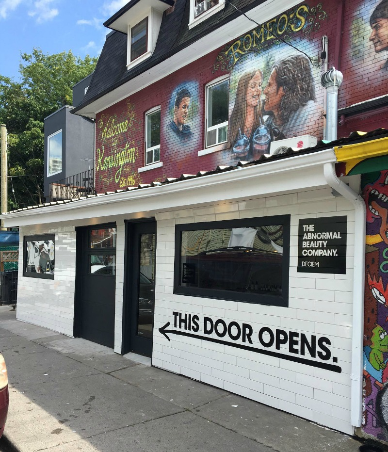 Kensington Market storefront. Photo: Jerome Clark