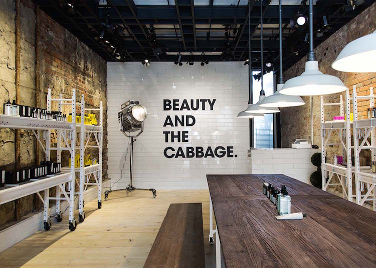 Inside the Cabbagetown Deciem store. Photo: Jerome Clark