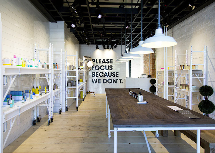 Inside the Queen Street West flagship. Photo: Jerome Clark