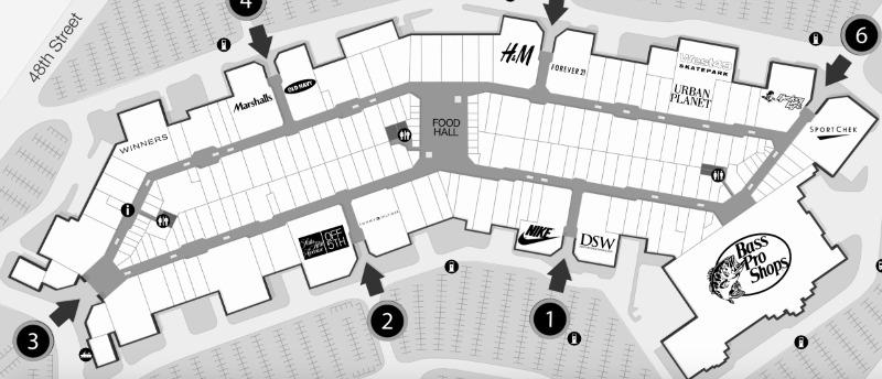 Click above for interactive Tsawassen Mills mall map.