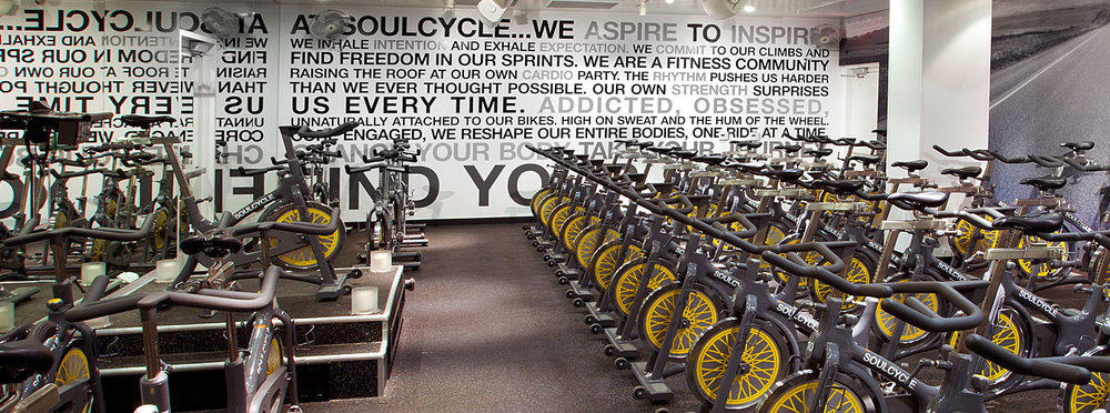 Image courtesy of SoulCycle.