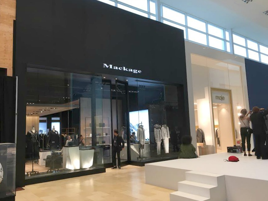 Toronto's second Mackage, and Canada's first Maje store.