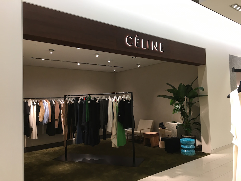 (Celine ready-to-wear boutique)
