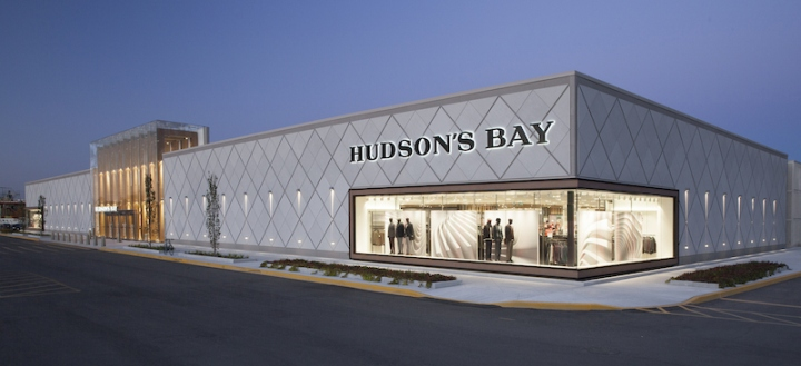 (A renovated and expanded 136,915 square foot Hudson's Bay location opened in the Spring of 2015)