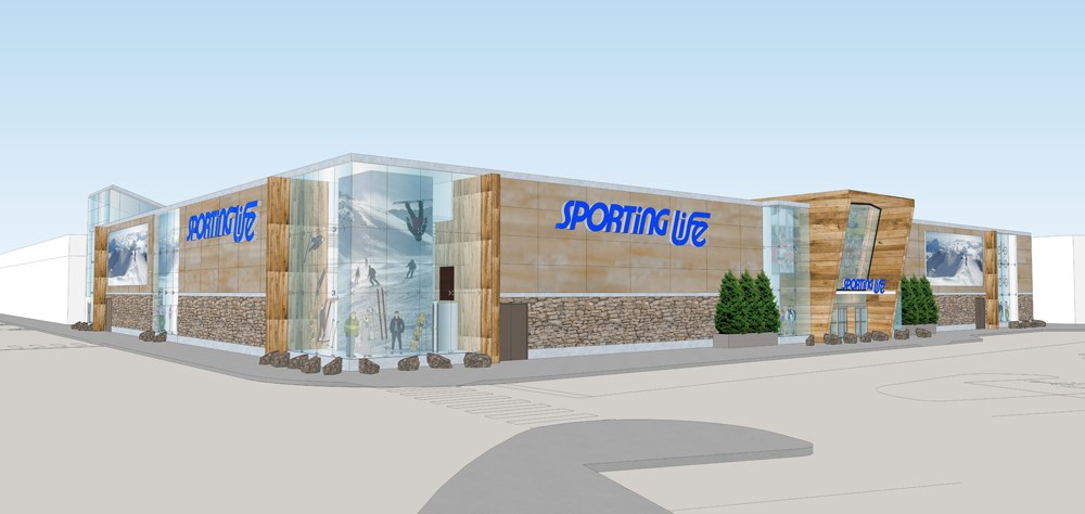 (The 44,000 square foot Sporting Life store opens today)