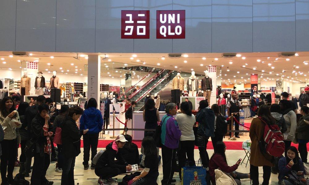 Uniqlo lines